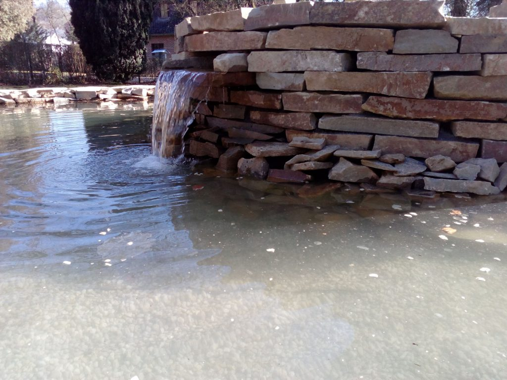 Pièce d\'eau Liège. Jardins Marechal Hatert, création de pièce d\'eau ...